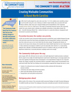 First page of the North Carolina Walkable Communities In Action story