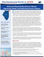 First page of Illinois Enhanced PE In Action Story