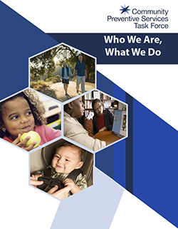 Cover of the printable Who We Are, What We Do document.