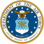 The logo of the United States Air Force