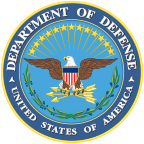 The logo of the United States Department of Defense