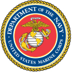 The logo of the United States Marine Corps