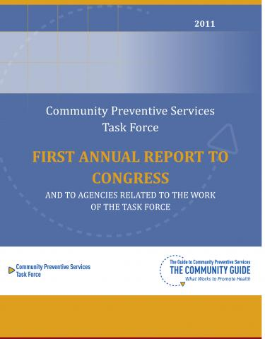 Cover of the 2011 Annual Report to Congress
