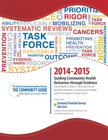 Cover of the 2014-2015 Annual Report to Congress