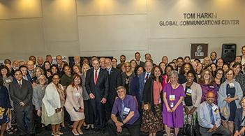 A group shot of the participants at the 2019 Community Guide celebration