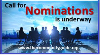 Nominations are open for new members of the Community Preventive Services Task Force